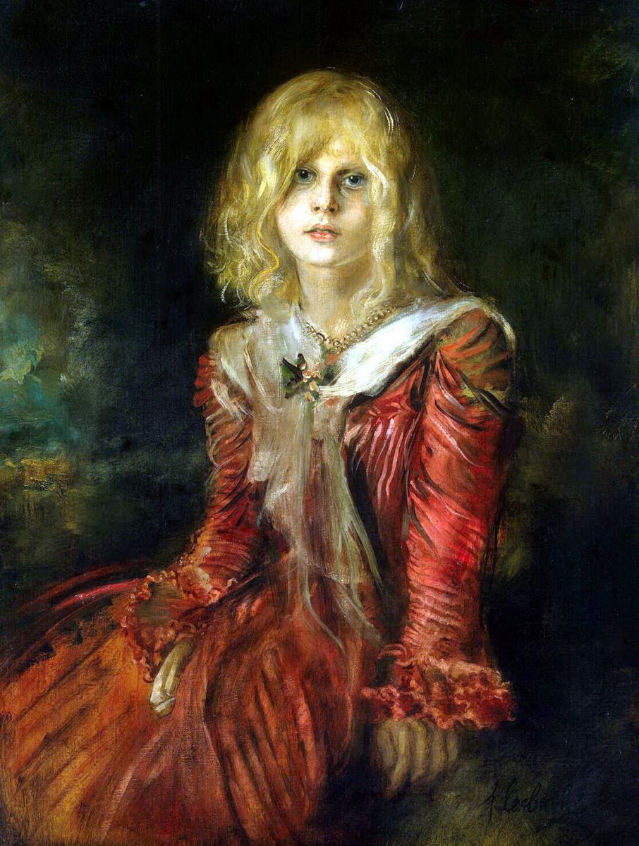 Франц фон Ленбах. Портрет Марион Ленбах