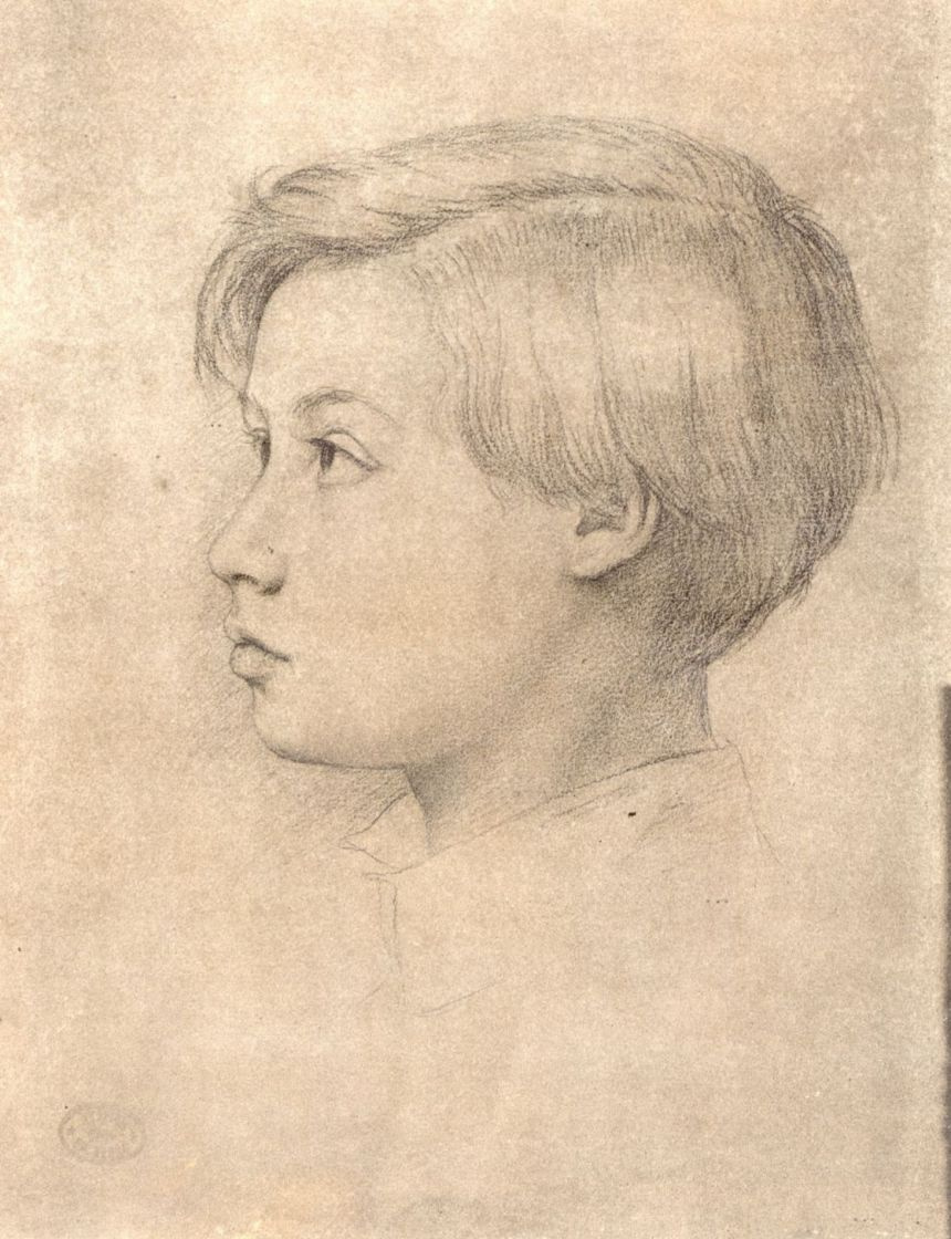 Эдгар Дега. Портрет Рене де Га