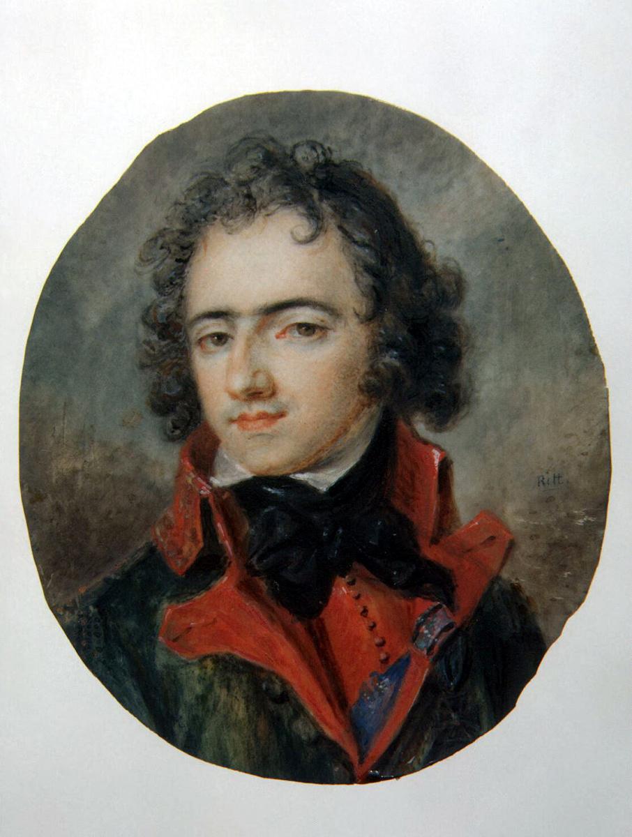 Августин Христиан Ритт. Портрет князя Иосифа Понятовского