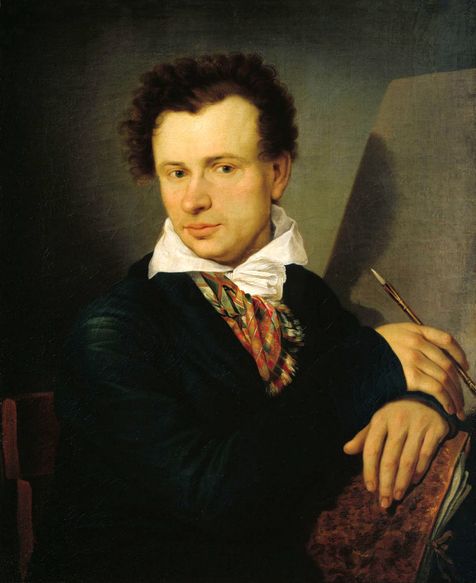 Ivan Vasilyevich Bugaevsky-Grateful (Bogaevsky). Self-portrait