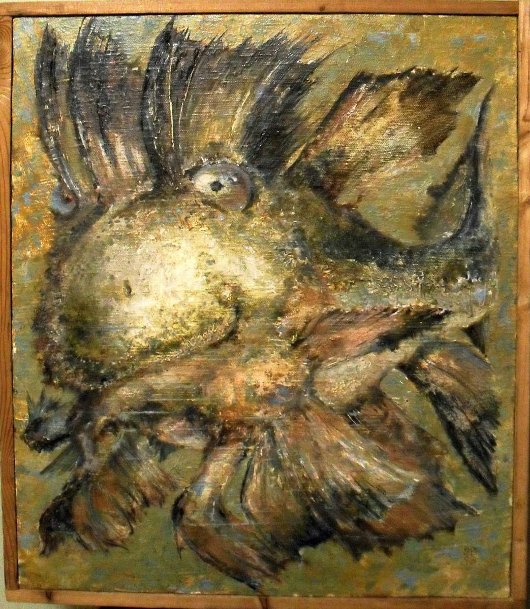 Vadim Vadimovich Novikov. Fish without worries