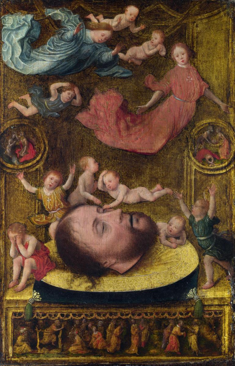 Ян Мостарт. Глава Святого Иоанна Крестителя