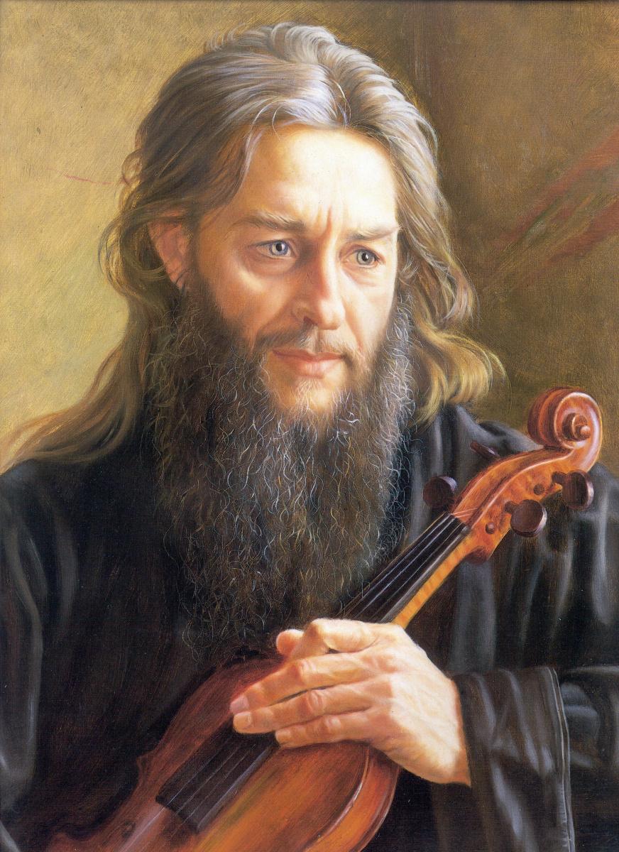 Александр Максович Шилов. Игумен Зиновий
