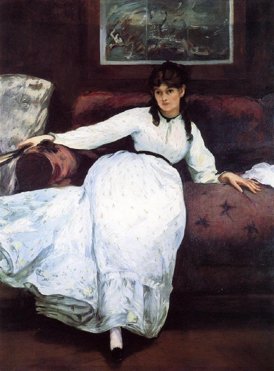 Edouard Manet. Rest. Portrait of Berthe Morisot
