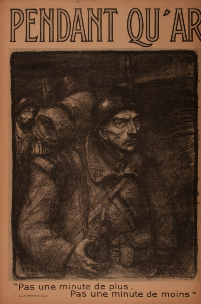 Theophile-Alexander Steinlen. But this time (Perhaps the last minute...)