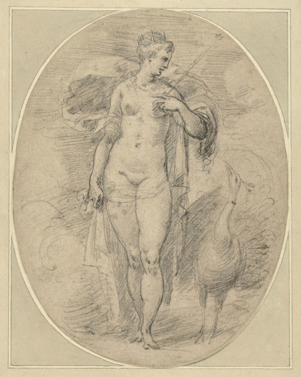 Хендрик Гольциус. Юнона.1600-1617