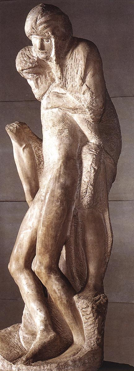 Микеланджело Буонарроти. Пьета Ронданини.