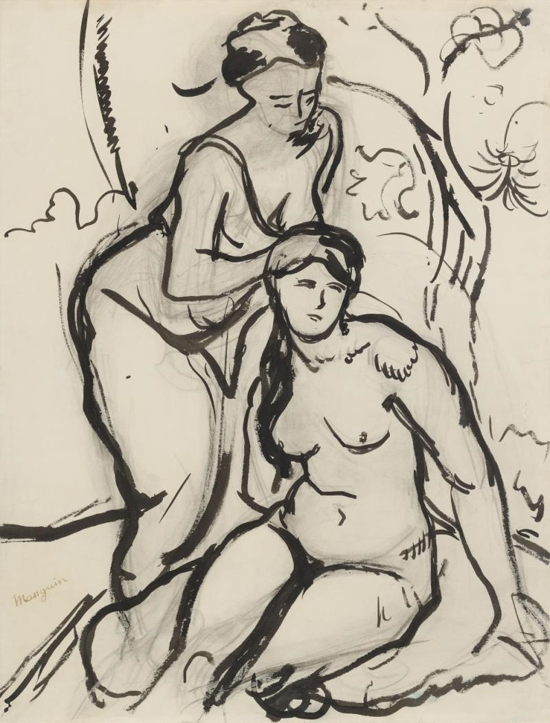 Henri Manguin. Hair. Sketch