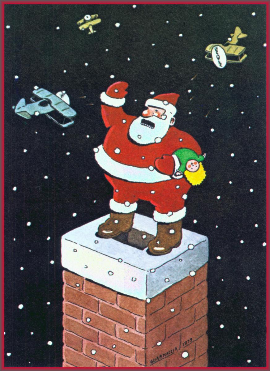 Стивен Гуарнакиа. Рождественская открытка