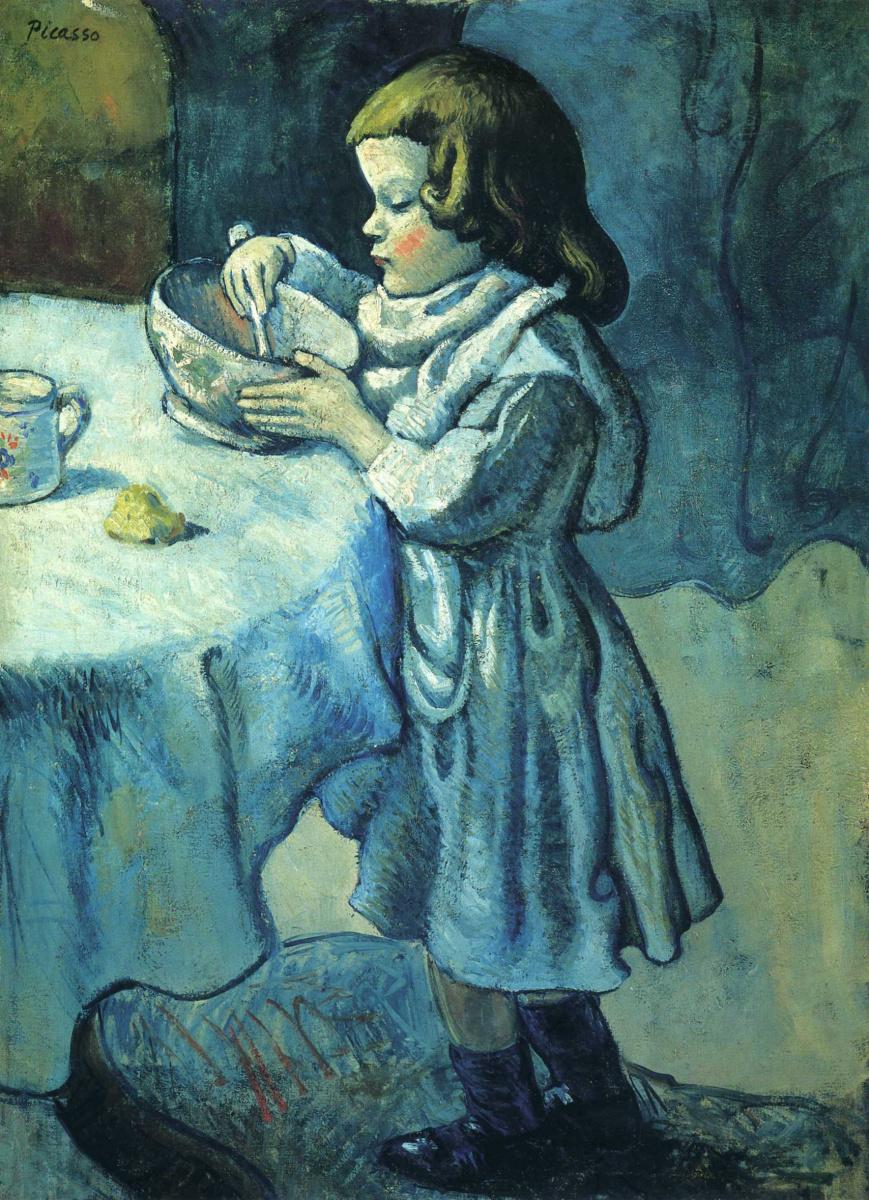 Пабло Пикассо. Гурман