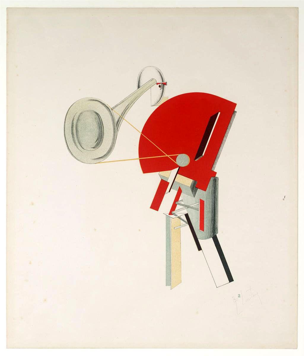 El Lissitzky. Speaker