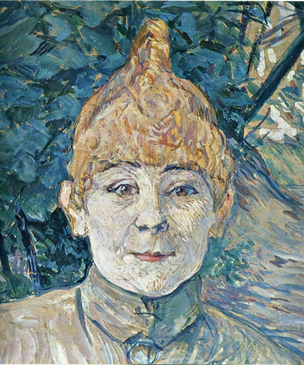 Анри де Тулуз-Лотрек. Портрет уличной женщины