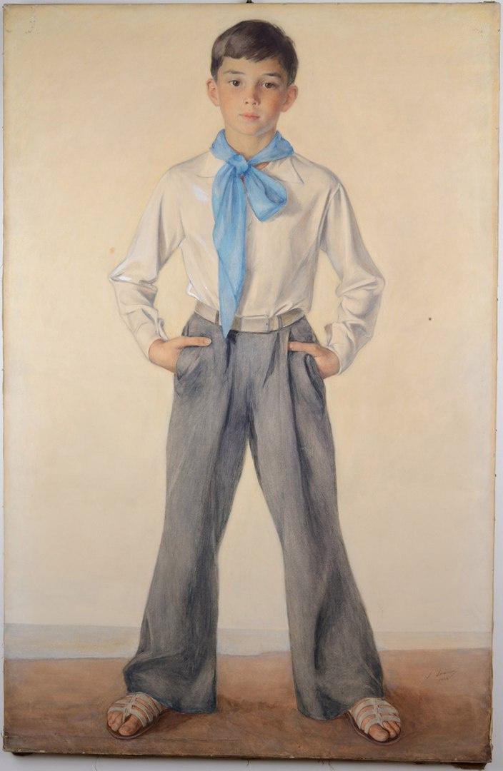 Saveliy Abramovich Sorin. Portrait of Pavel Sorin, nephew of the artist.