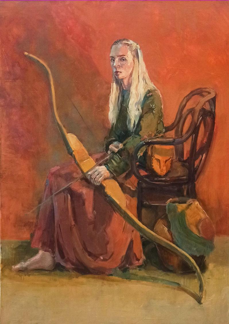 Alisa Chankova. Archer