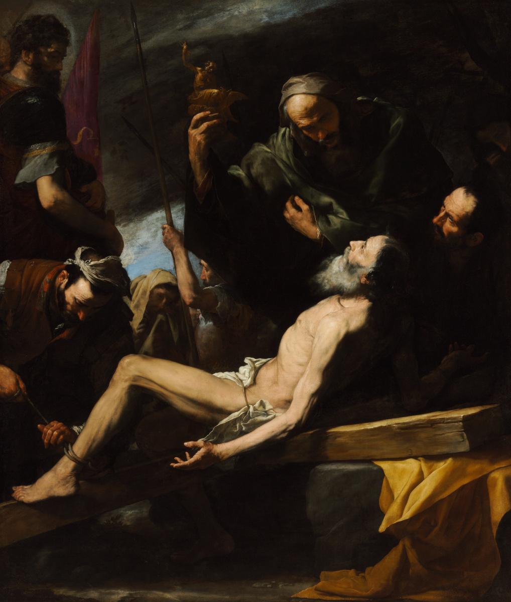Хосе де Рибера. Мученичество св. Андрея