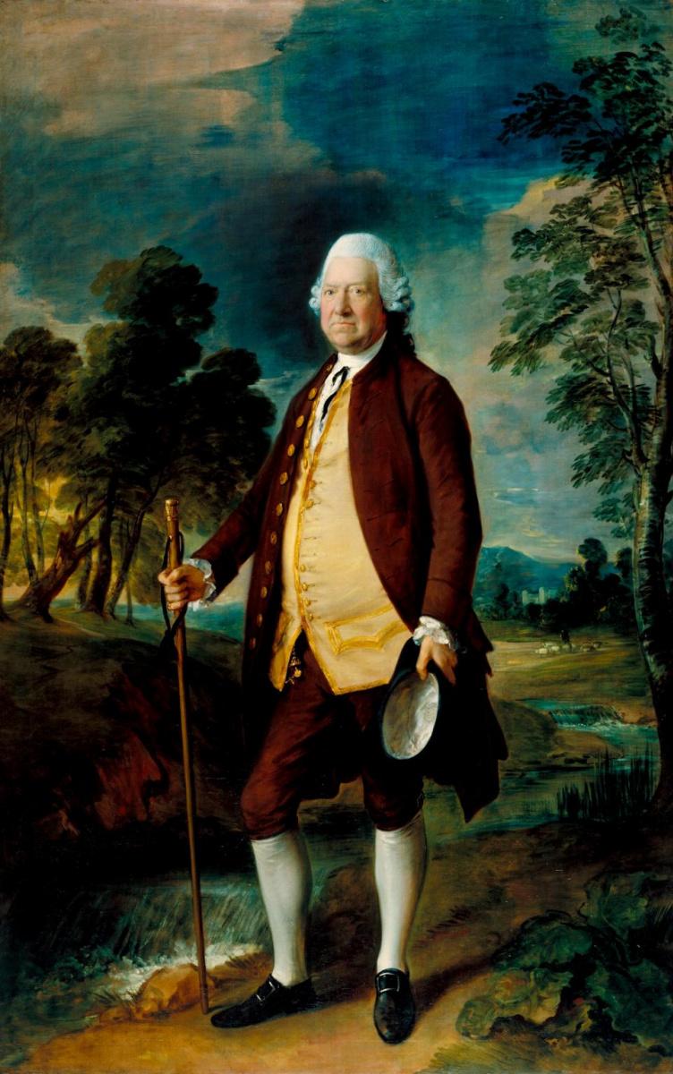 Thomas Gainsborough. Sir Benjamin Truman