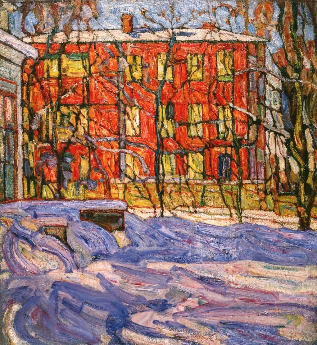 Абрам Аншелевич Маневич. Red House, Petrograd
