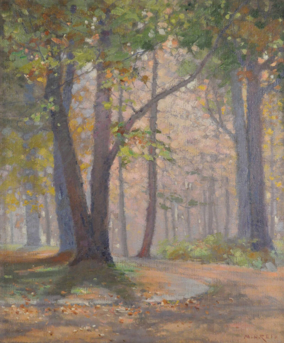 Mary Augusta Hister Reed. Autumn. Wichwood park