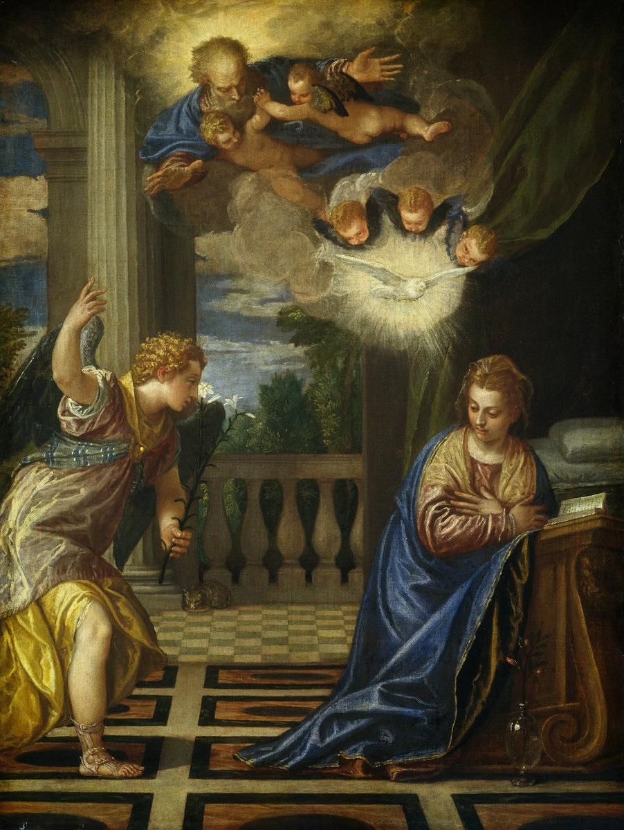 Paolo Veronese. Annunciation