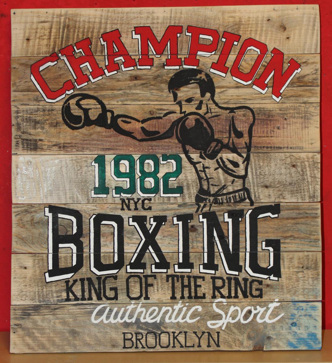 Michael Earthman. Champion