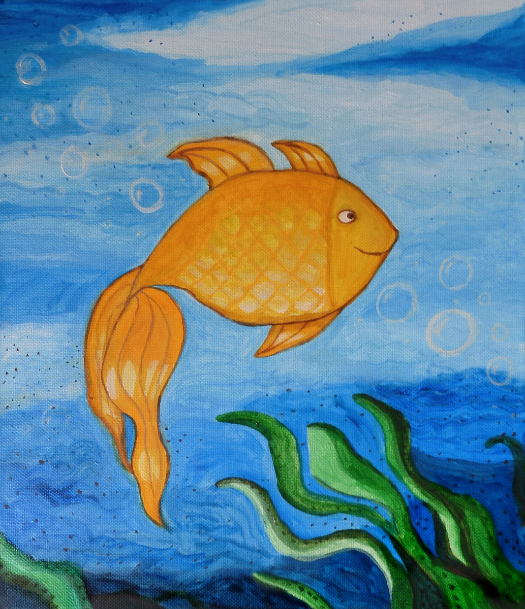 Anastasia Kuanysheva. Gold fish