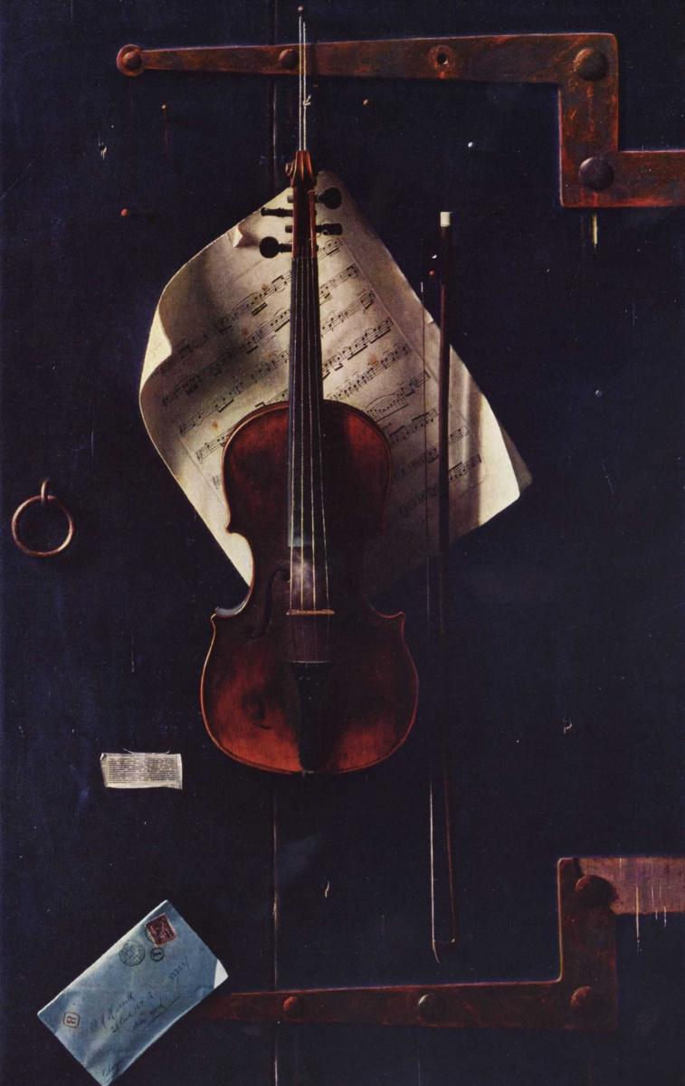 Уильям Майкл Харнетт. Старая скрипка