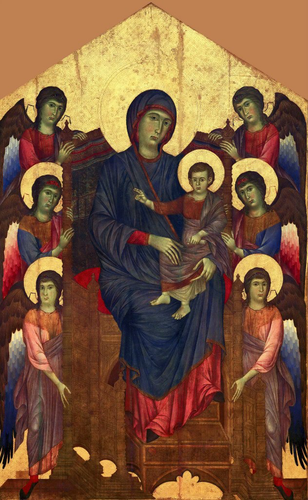 Cimabue (Chenny di Pepo). Madonna with Angels