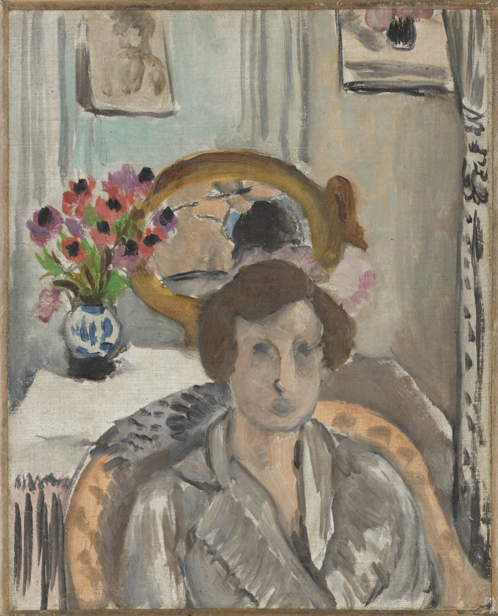 Henri Matisse. Woman with Anemones
