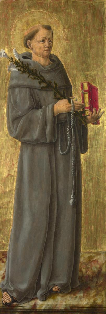 Скьявоне Джорджио. Святой Антоний Падуанский