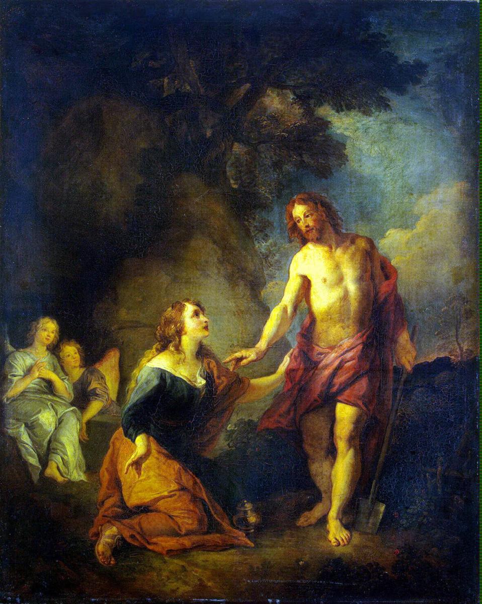 Шарль Де Лафосс. Явление Христа Марии Магдалине