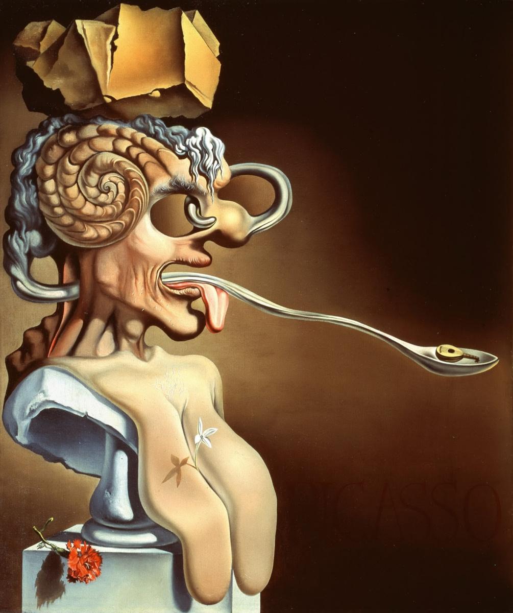 Salvador Dali. Portrait of a Picasso