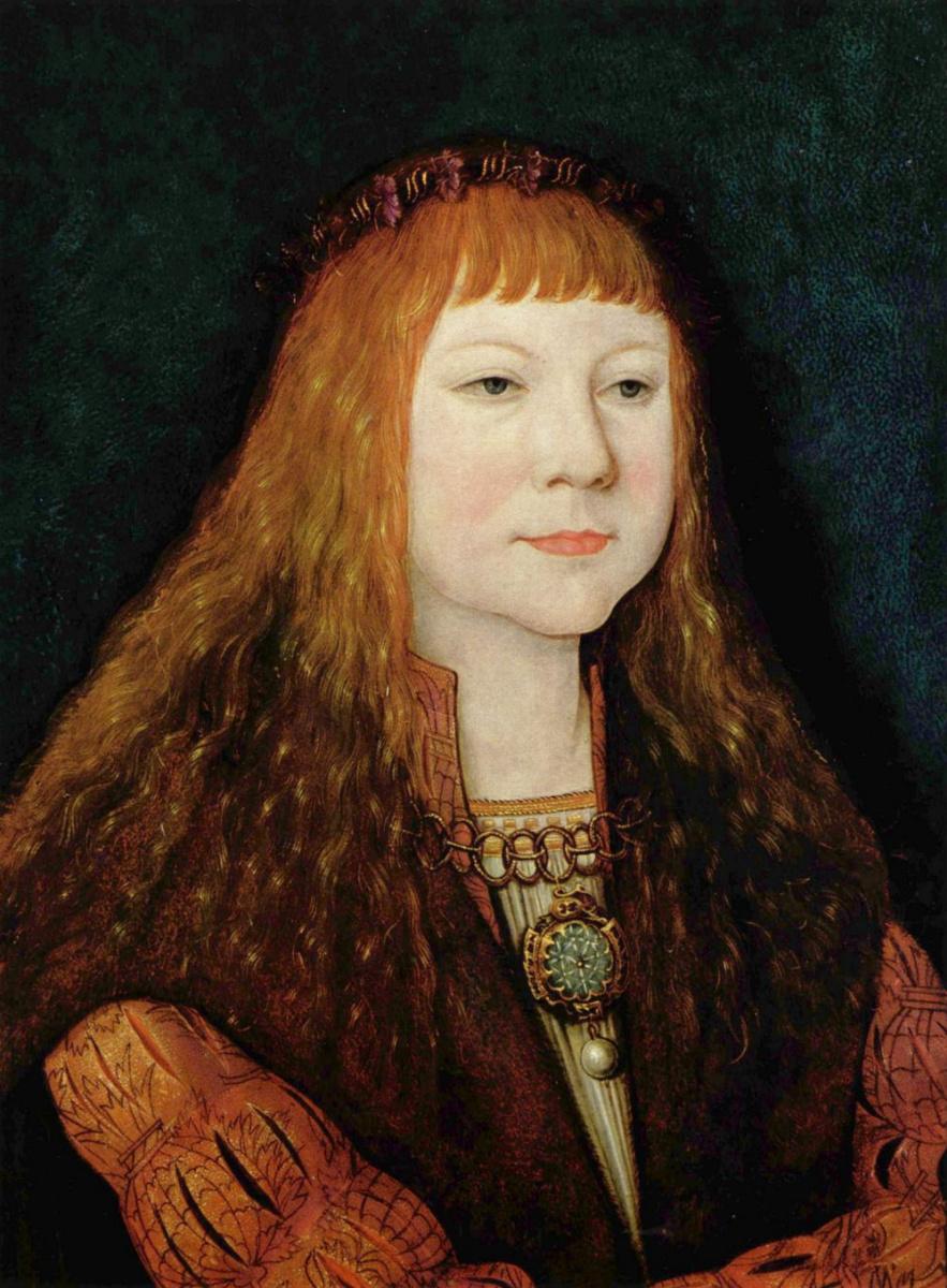 Бернард Штригель. Портрет Людвига II Венгерского
