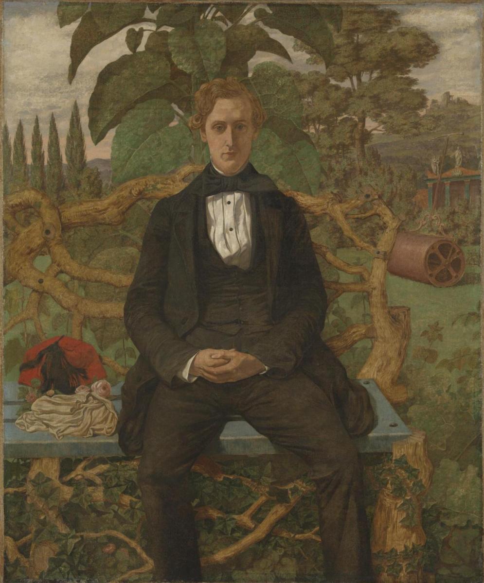 Ричард Дадд. Portrait of a young man