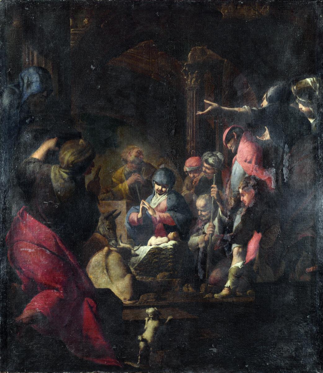 Джованни Баттиста Спинелли. Поклонение пастухов