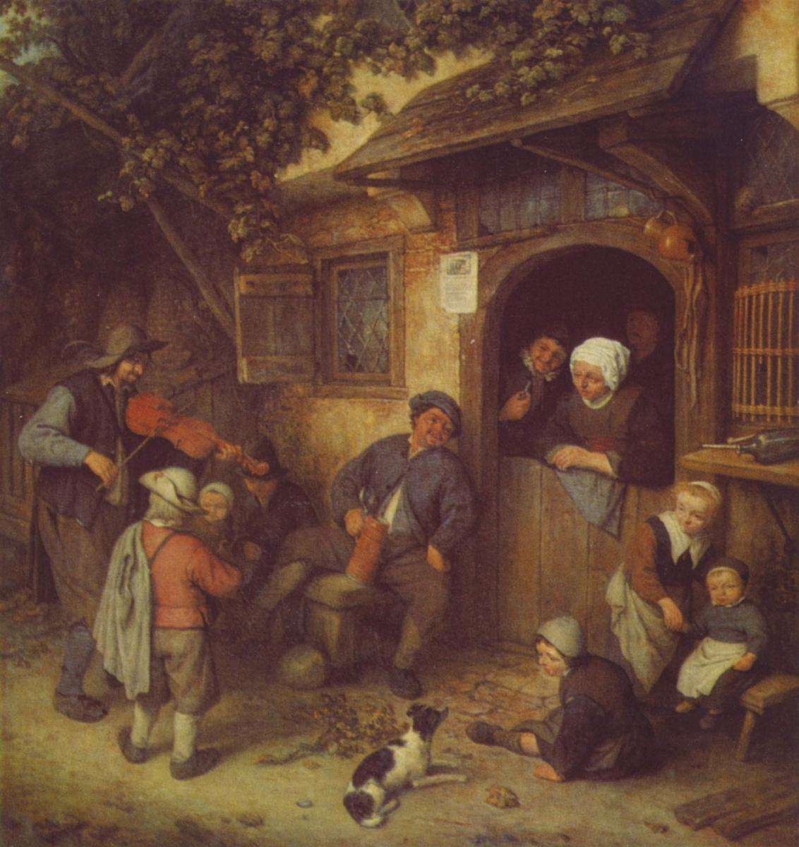 Адриан ван Остаде. Скрипач