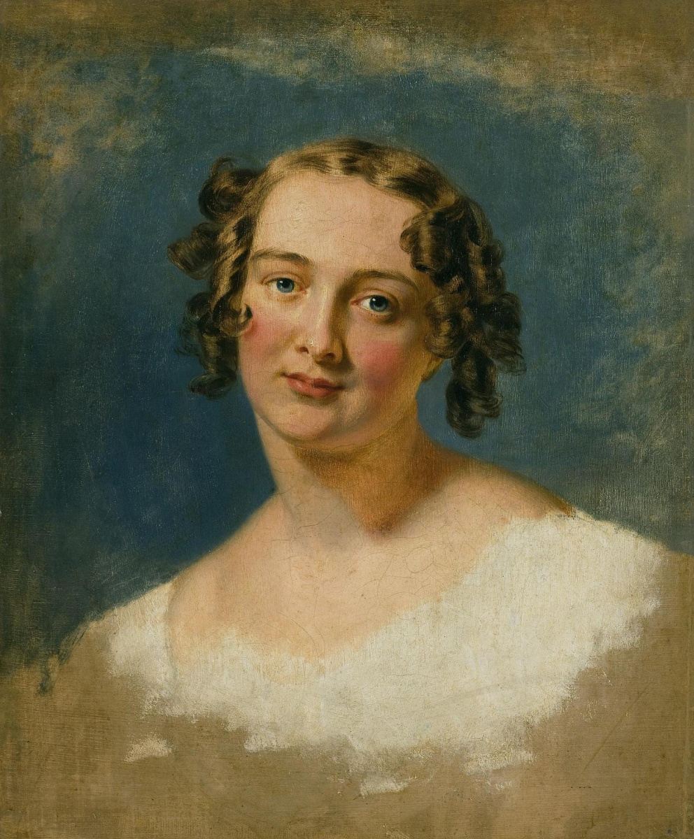 George Dow. Portrait of a young woman