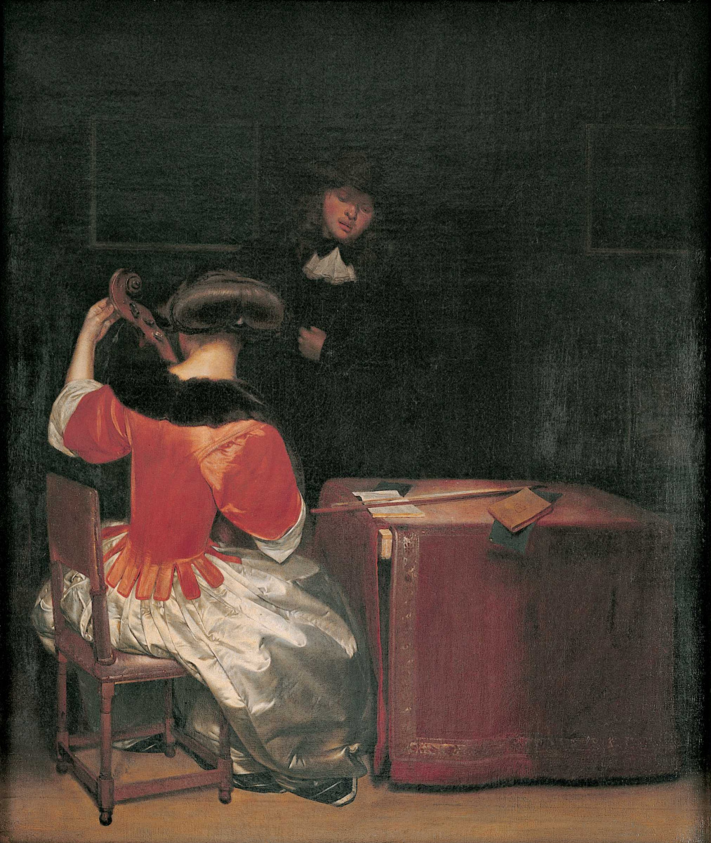 Герард Терборх. Урок музыки