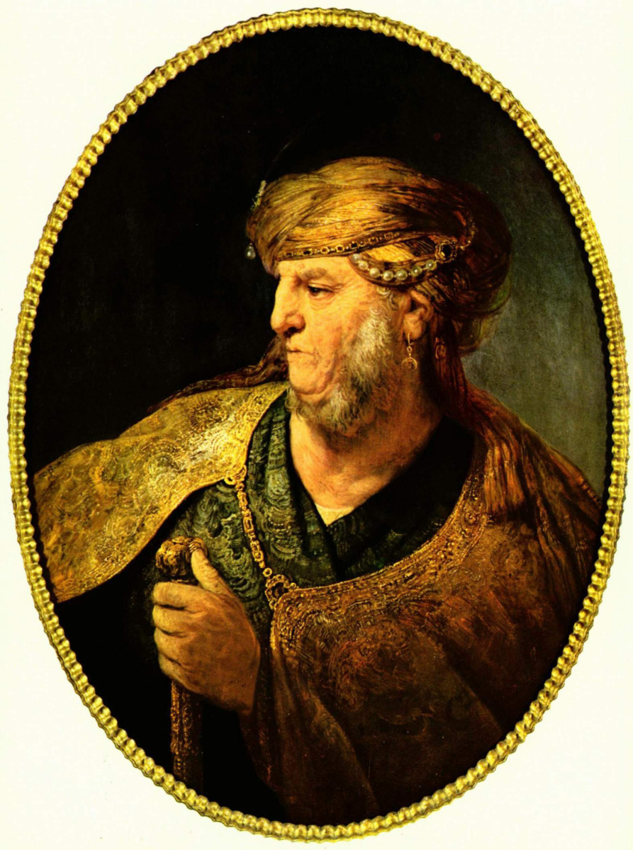 Рембрандт Ван Рейн. Портрет мужчины в восточном одеянии