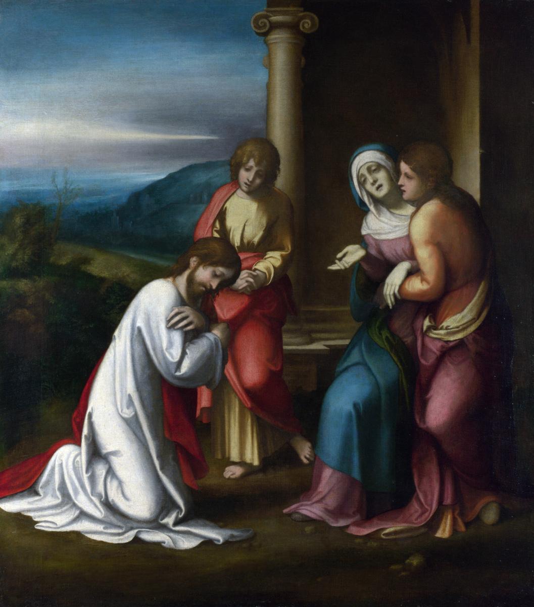 Антонио Корреджо. Христос прощается с матерью