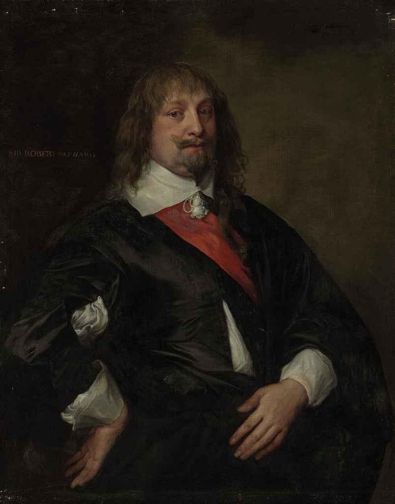 Anthony van Dyck. Portrait of sir Robert Howard