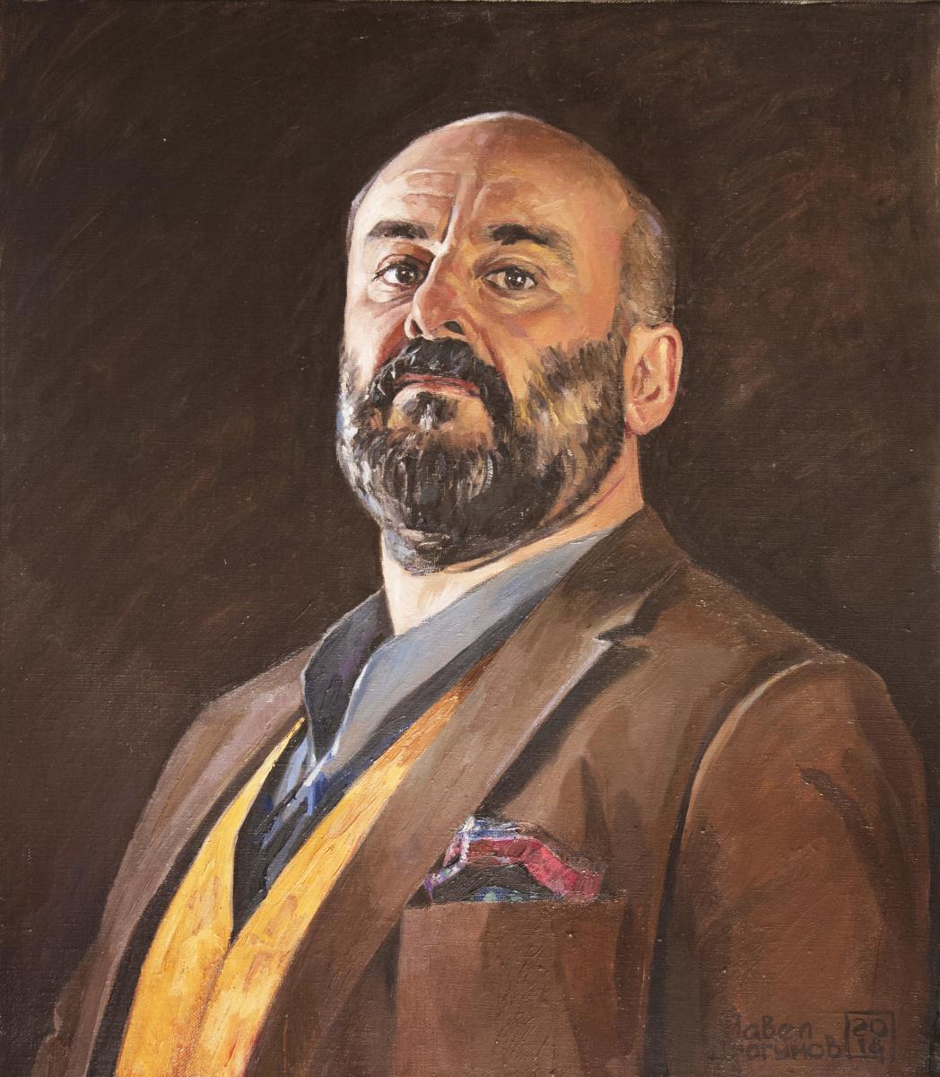 Pavel Gennadievich Dragunov. Portrait of David Livermore