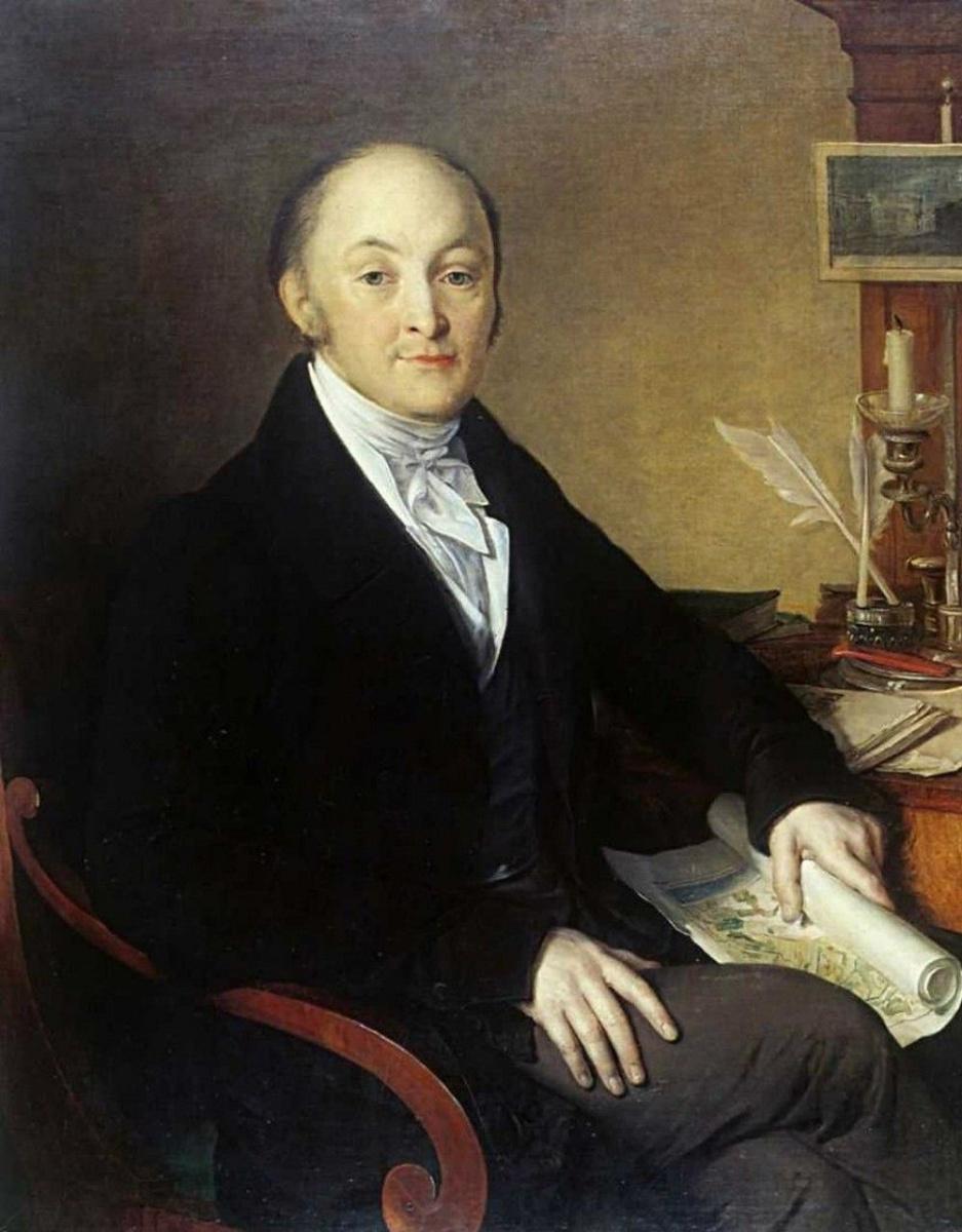 Василий Андреевич Тропинин. Портрет М. М. Сперанского