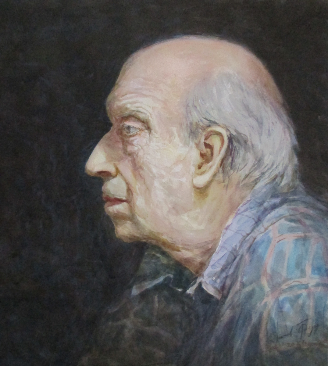Fedor Dmitrievich Usachev. Father portrait