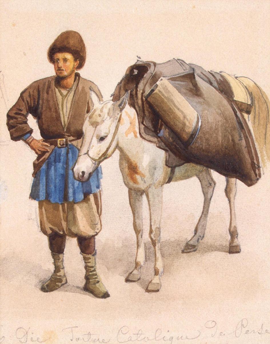 Луиджи Премацци. Татарин с мулом