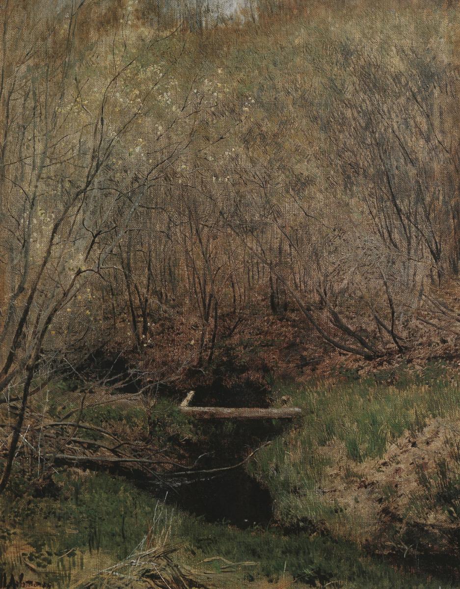 Исаак Ильич Левитан. Весной в лесу