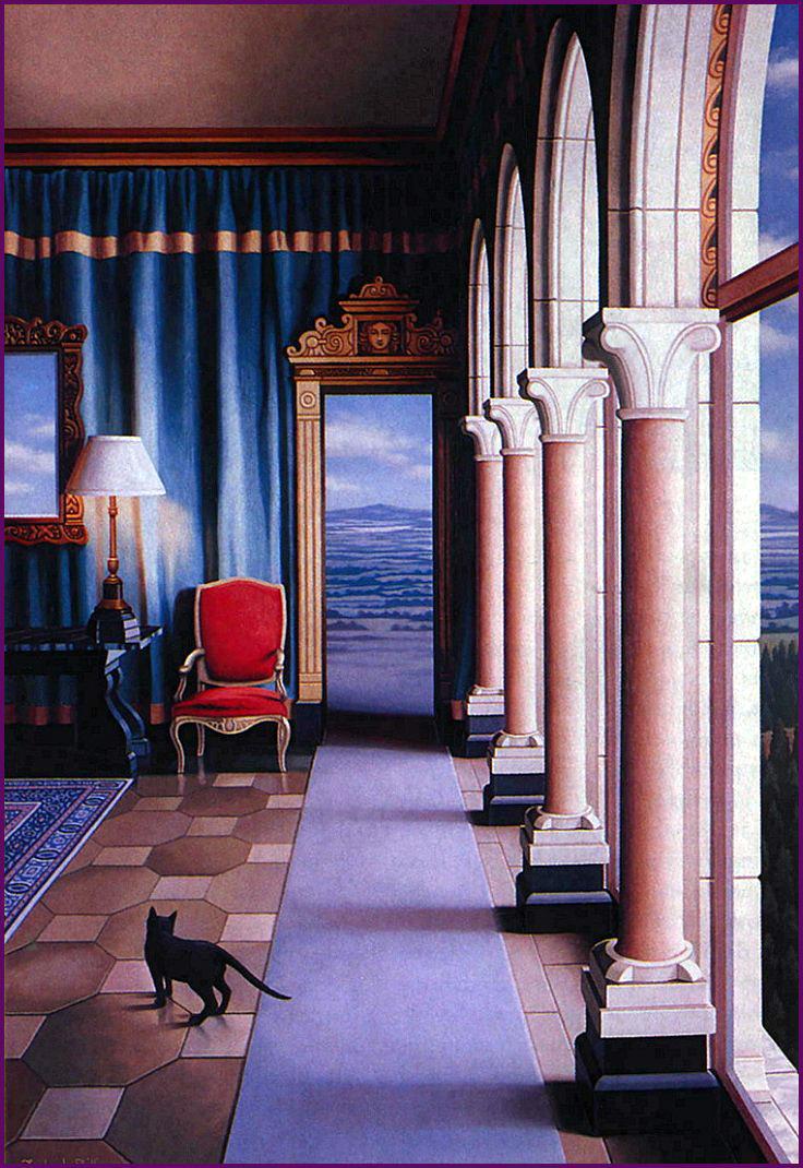 Фредерик Филлипс. Черный кот