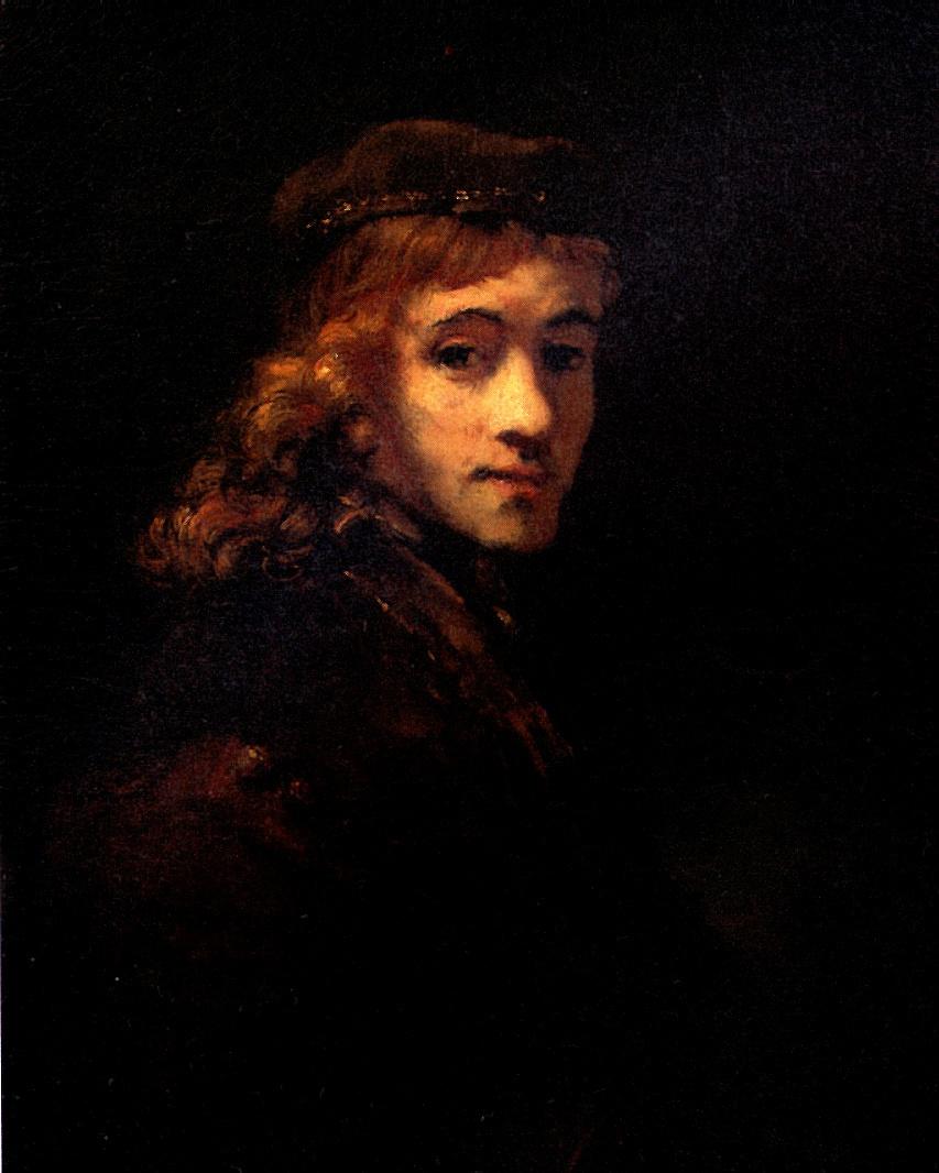 Рембрандт Ван Рейн. Портрет Титуса, сына художника