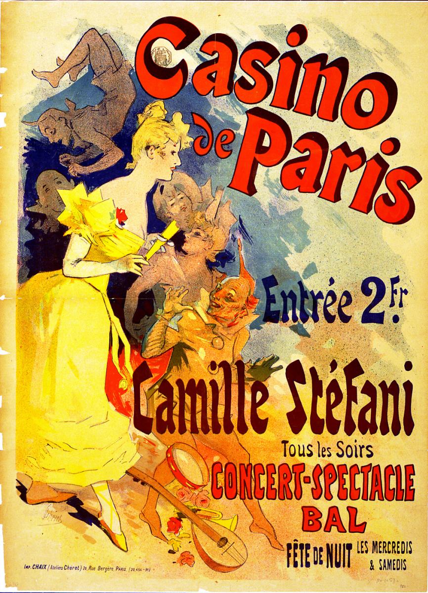 Jules Chere. Casino de Paris