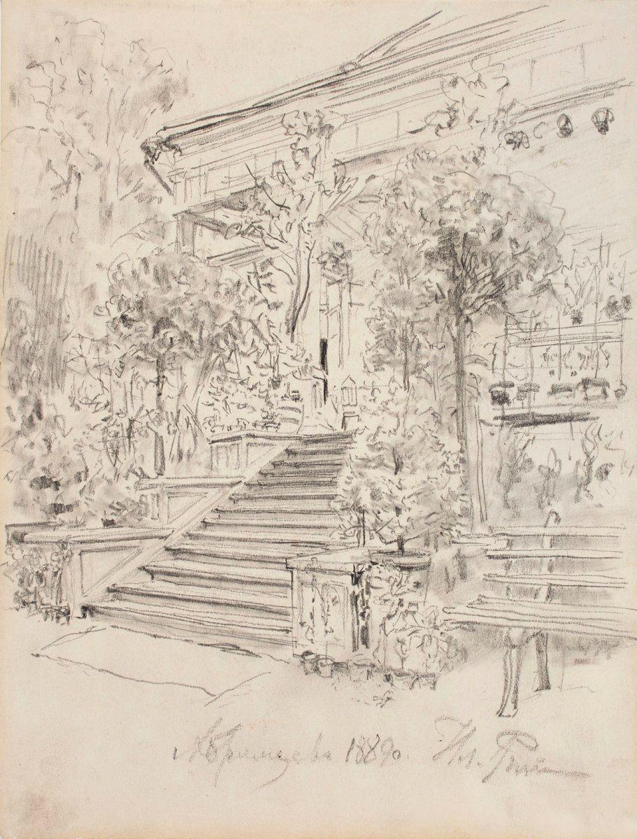 Ilya Efimovich Repin. Abramtsevo, Mamontov's estate