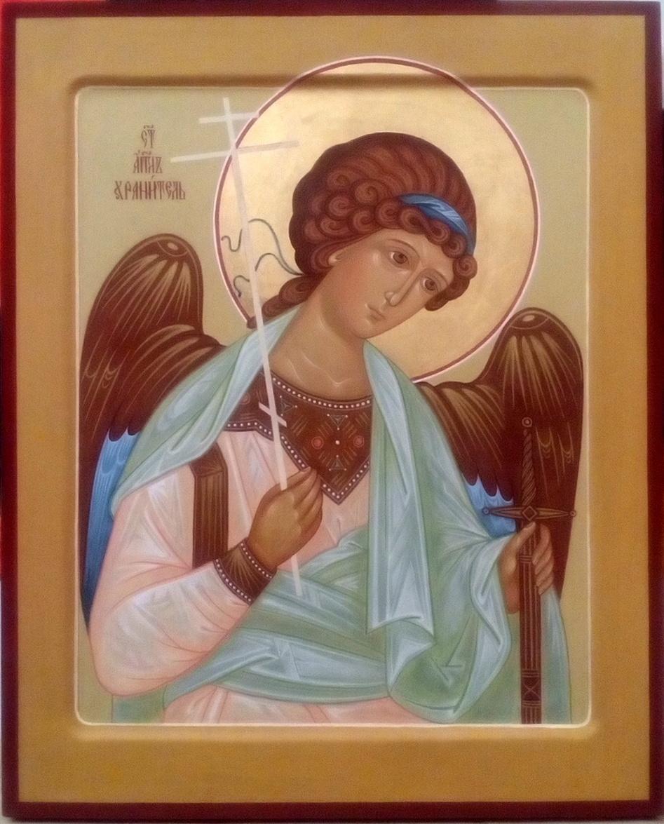 Tatyana Ivanovna Terekhova. Guardian Angel Icon